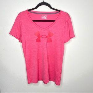 Pink Under Armour Shirt Size Medium
